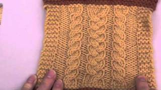 Repeat youtube video Knitting How-To: Wet Blocking Your Gauge Swatch