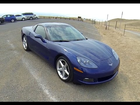 2006 Chevrolet Corvette C6 - POV test drive