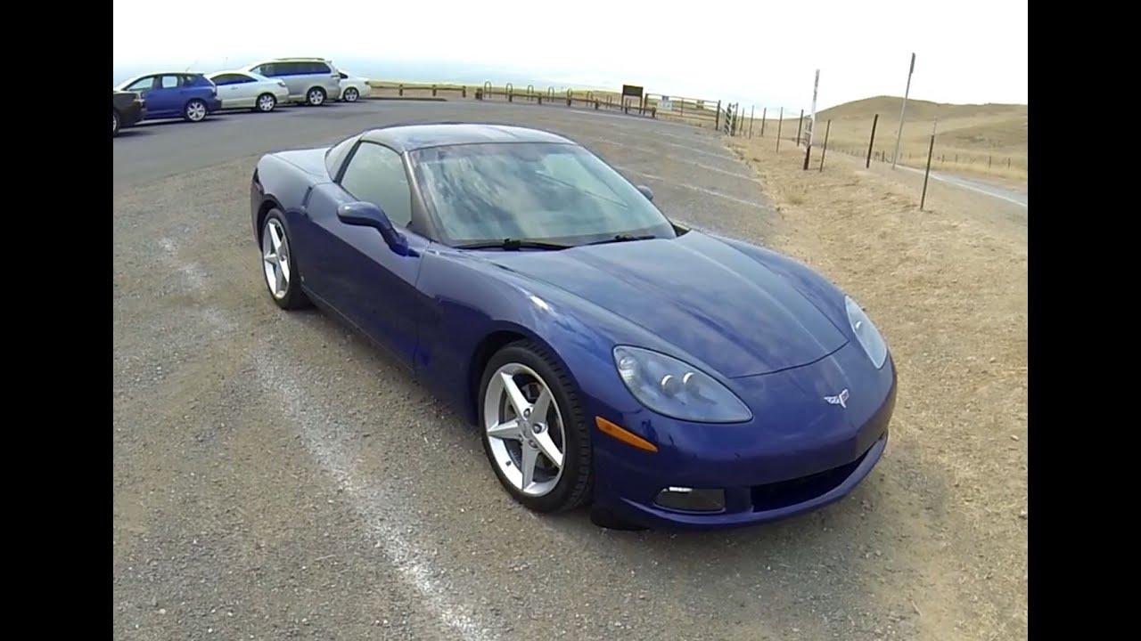 2006 Chevrolet Corvette C6 Pov Test Drive Youtube