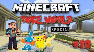 Minecraft: PokeWorld Special #18 - Возвращение игры с подписчиками (Игра на сервере)