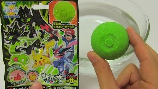 pocket monsters xy bath ball surprise egg ポケットモンスターxy バスボール