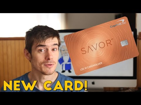 Capital One Releases Credit Card for Foodies (The Savor Card)