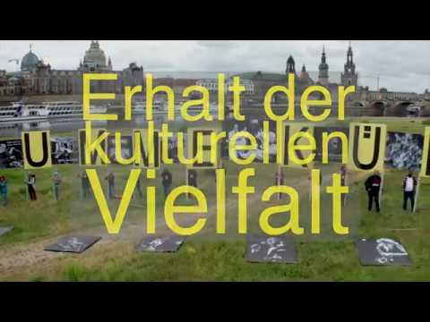 STUMME KÜNSTLER  Nächste Demo am 27.5., 17 Uhr,  Filmnächtegelände Dresden.