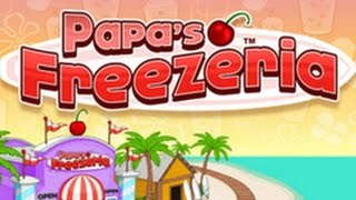 #1 Día| WALTHROUGH Papa's Freezeria