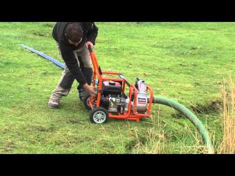"Evolution - EVO-System Petrol Engine & 3"" Dirty Water Pump"
