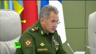 Шойгу: Россия и Сирия прекратили авиаудары в районе Алеппо