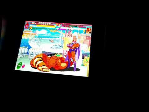 Magneto Marvel Super Heroes Arcade1up Limited edition from Metal-Video Gamez Ex