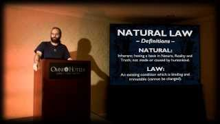 The Definition of Natural Law