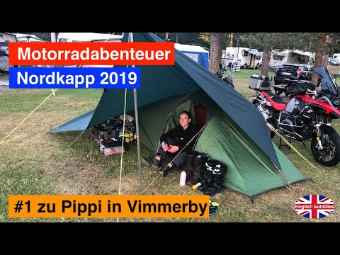 #1 Nordkapp 🇩🇰🇸🇪 - Motorradabenteuer 2019 - zu Pippi in Vimmerby