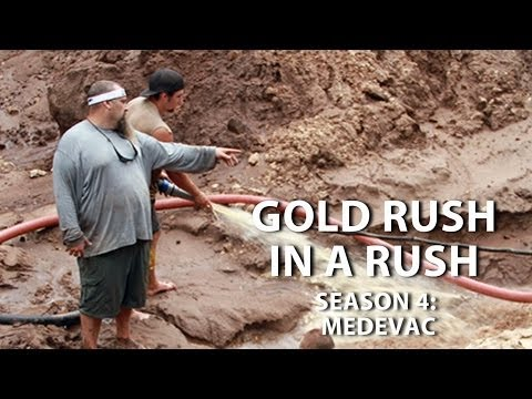 gold rush season 4 episode 15 medevac gold rush in a rush recap youtube. Black Bedroom Furniture Sets. Home Design Ideas