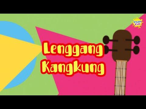 LAGU ANAK LENGGANG KANGKUNG | KARAOKE LAGU ANAK | VISION KIDS