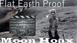FLAT EARTH Proof: The Moon Landings Were A HOAX!