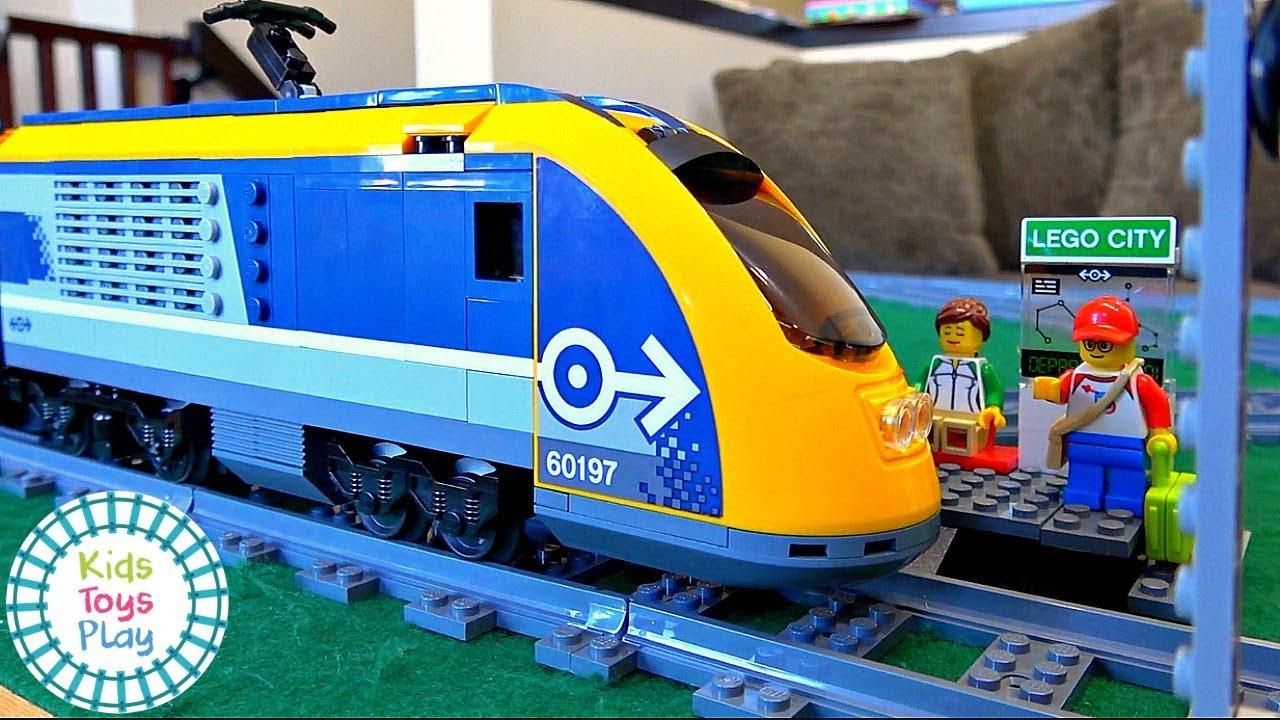 Lego City 60197 Speed Build | Lego City Passenger Train 60197 | Fast Build Lego Train