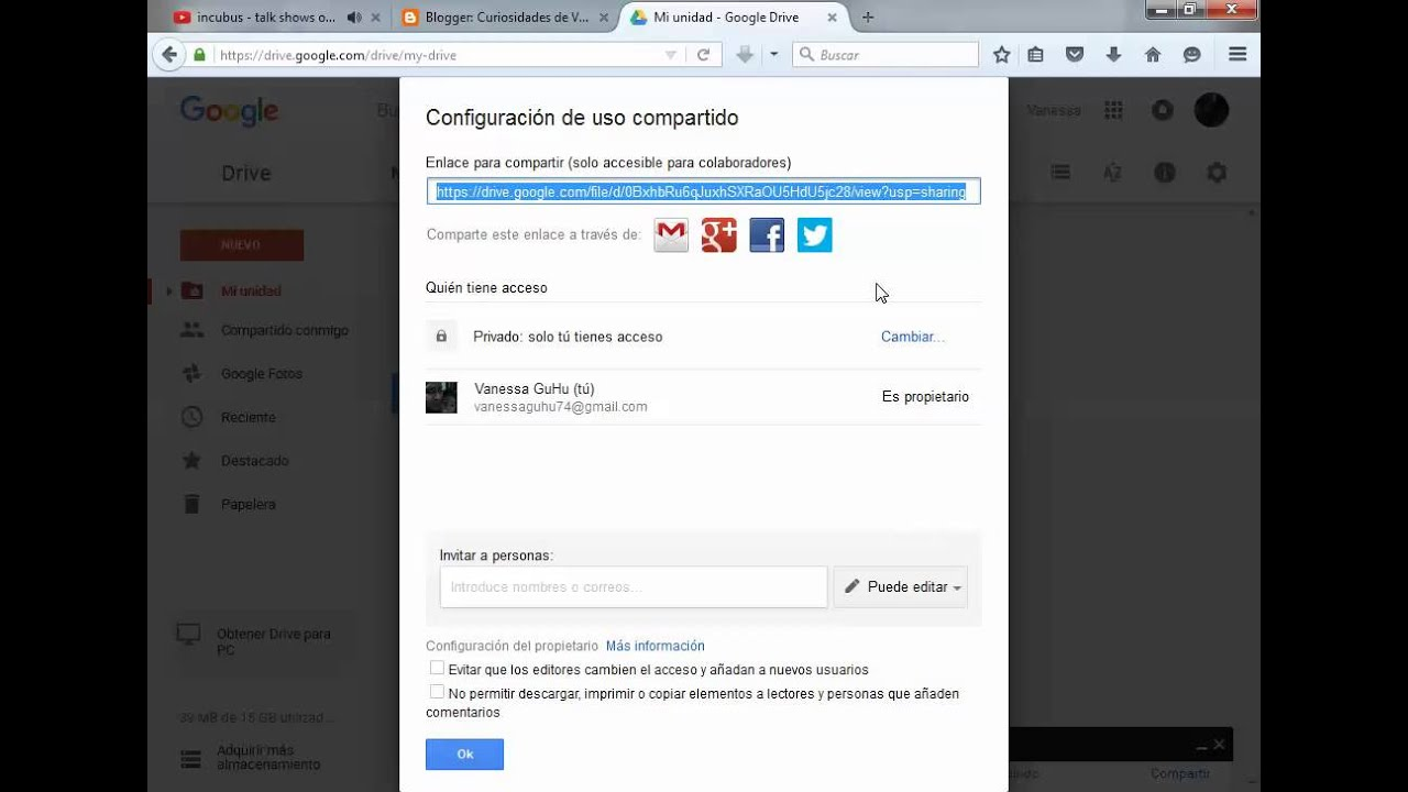 Como Subir Un Archivo Pdf Al Blogger Youtube