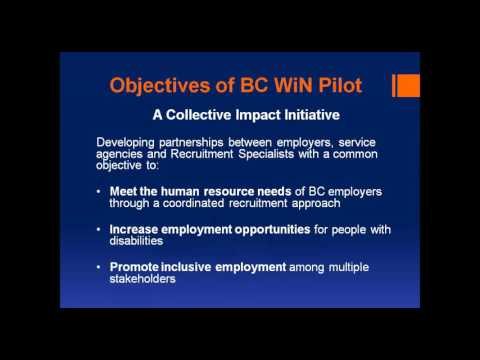 Webinar: BC Partners in Workforce Innovation (BC WIN)