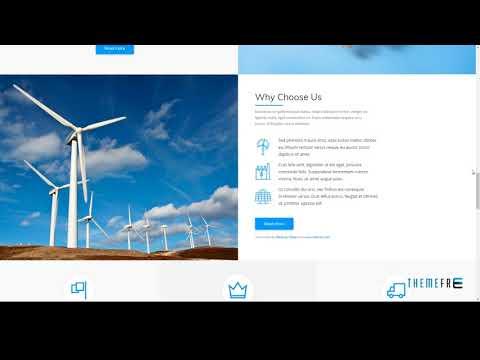 Nur - Alternative and Renewable Energy WordPress Theme        Abdulla