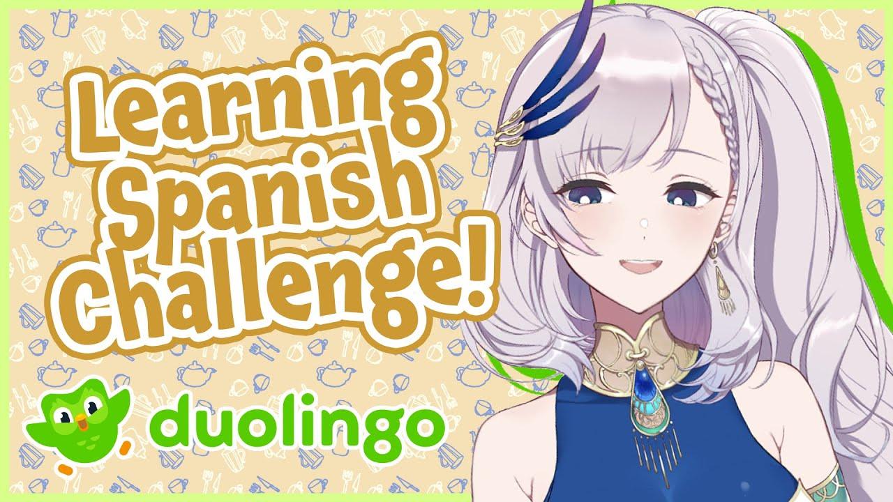 【duolingo】LEARN SPANISH CHALLENGE! Expand my vocabulary【hololiveID 2nd gen】