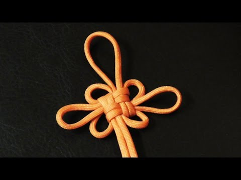 How To Tie A Decorative Chinese Good Luck Knot With Paracord