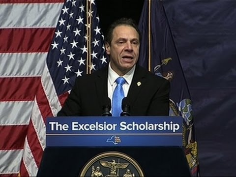 Cuomo Proposes Free College Tuition in NY