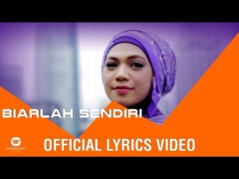 INDAH NEVERTARI - Biarlah Sendiri (Official Lyric Video)