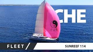 Luxury superyacht - catamaran CHE 2011