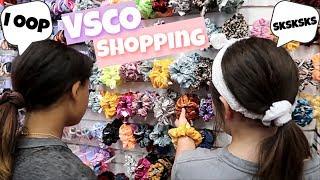 vsco shopping at the mall vsco girl transformation