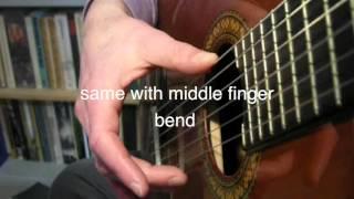 apoyando-rest-stroke-guitar-lesson