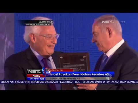 Israel Rayakan Pemindahan Kedubes AS ke...
