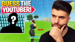 Guessing The Fortnite YouTuber Using ONLY Their Gameplay! (OG Edition)