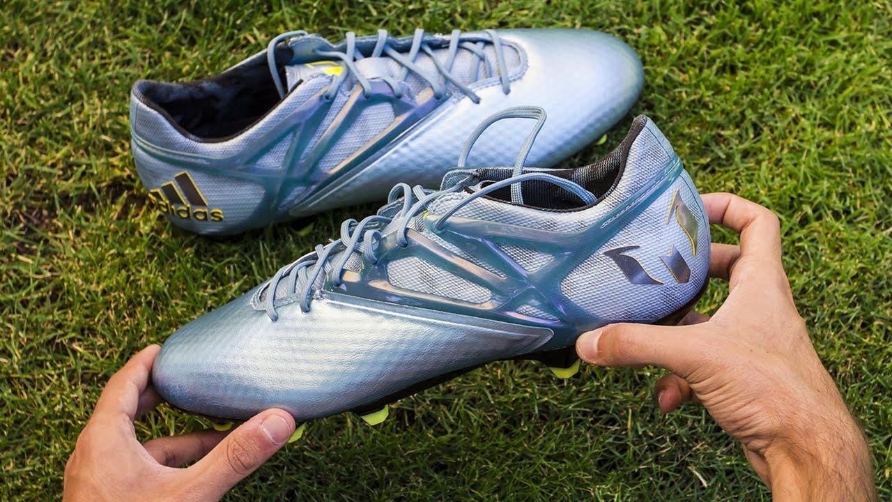recogido bien baratas zapatos para correr Nuevas Botas Adidas Messi 15.1 Unboxing
