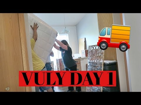 IT'S MOVING DAY | VULY DAY 1
