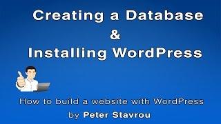 5. Wie Sie eine Datenbank Erstellen und Installieren von WordPress
