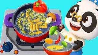 Permainan Game Anak - Bayi Panda Masak Masakan