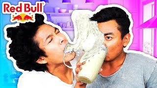 RED BULL AND MILK EXPERIMENT!