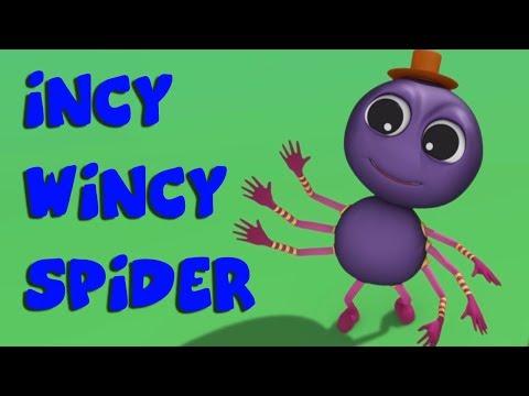 Incy Wincy Spider Nursery Rhymes kids Song Children Videos