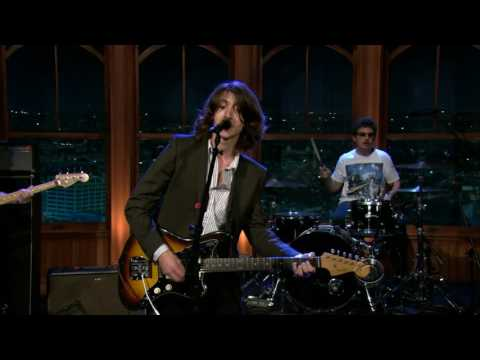 """Arctic Monkeys """"Cornerstone"""" On The Late Late Show"""