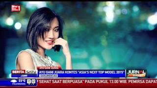 Ayu Gani Juarai Kontes Asia's Next Top Model 2015