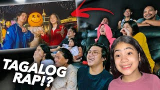 Family REACTS To Our New SONG SMILE (Tagalog Rap?!) | Ranz and Niana