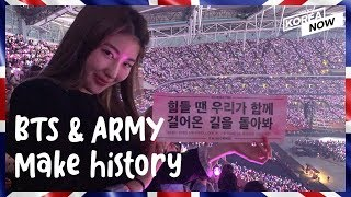 BTS and ARMY unite on the 1st day concert at Wembley Stadium