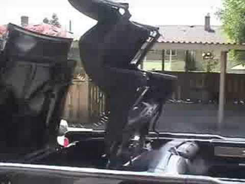 Lincoln Continental Convertible Lid problems - YouTube