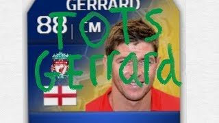 TOTS Gerrard in a pack w/Live Reaction Thumbnail