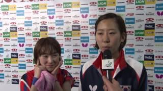 #TTokyo2014 Interview - Seo Hyowon & Yang Haeun