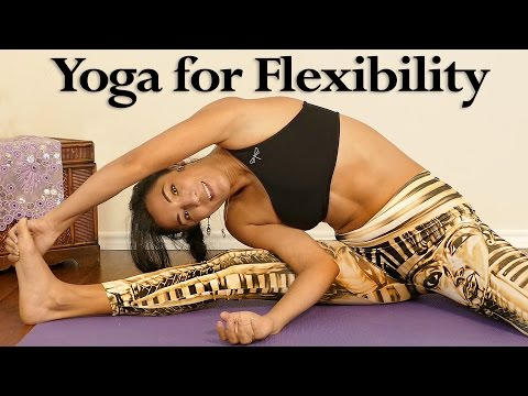 Beginners Yoga for Flexibility, Relaxing 20 Minute Stretch Routine, Pain Relief, Sanela Fit
