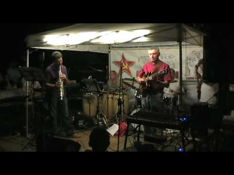 Anonimo Jazz Band - Song For Bilbao - Pat Metheny Cover - Cornaredo - 01/08/2010