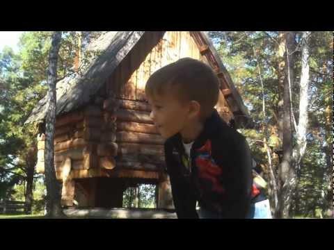 Избушка бабы Яги. Русский дом