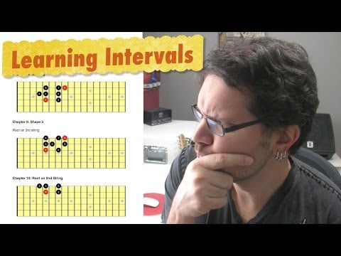 Learn Intervals On The Guitar