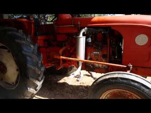 Tracteur Renault D22 - Démarrage à froid