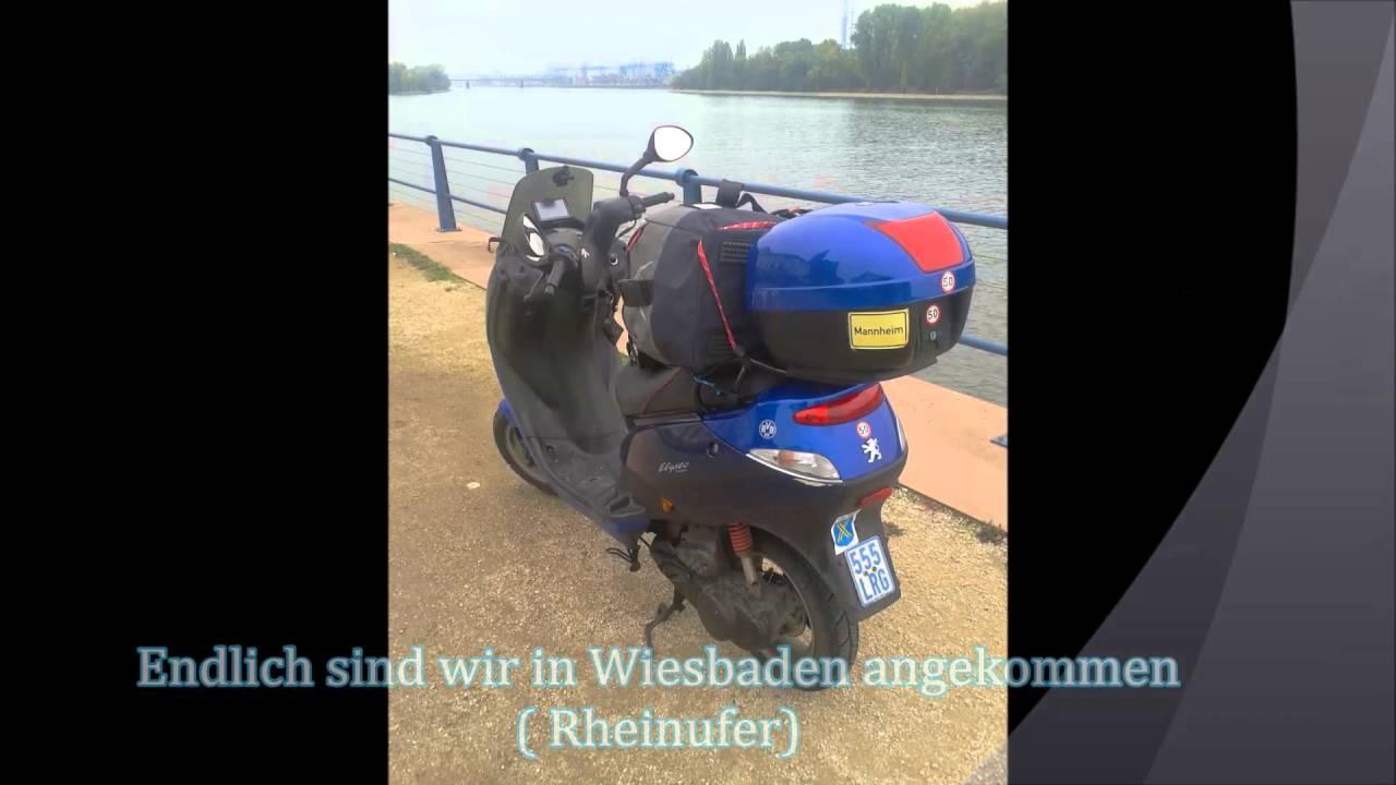 6te Roller Ausfahrt Urlaub Mannheim Youtube