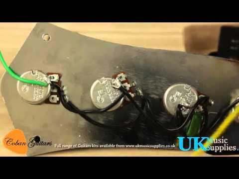 bass jazz wiring guide - full range of guitars kits ... yamaha bass guitar wiring diagram