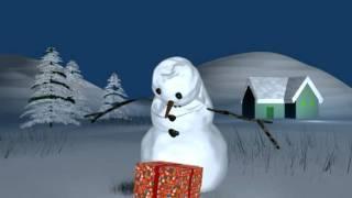 Un bonhomme de neige ...heureux ! streaming